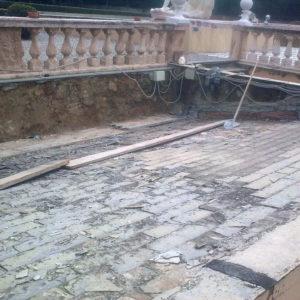 tetto serra villa zerbino prima