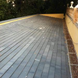 tetto serra villa zerbino dopo